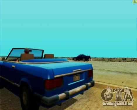 ENB HD CUDA v.2.5 for SAMP pour GTA San Andreas huitième écran