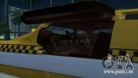 Taxi 5 Element pour GTA San Andreas vue de côté