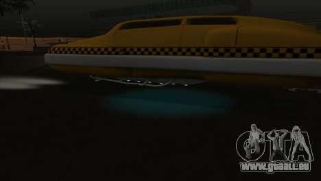 Taxi 5 Element pour GTA San Andreas vue de dessus