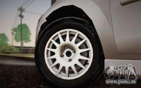 Chevrolet Corsa VHC pour GTA San Andreas sur la vue arrière gauche