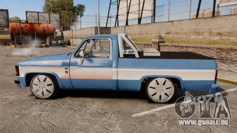 Chevrolet D-20 Custom pour GTA 4 est une gauche