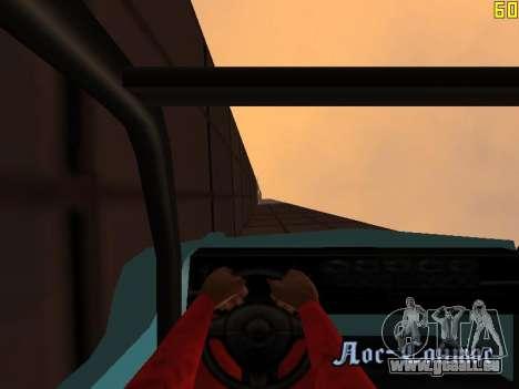 Reiten auf Wände und decken v2. 0. für GTA San Andreas achten Screenshot