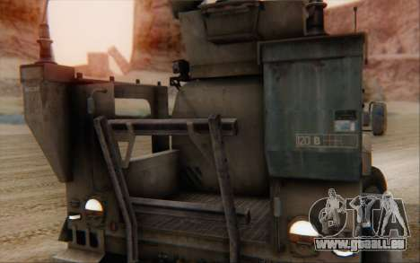 Oshkosh M-ATV pour GTA San Andreas vue arrière