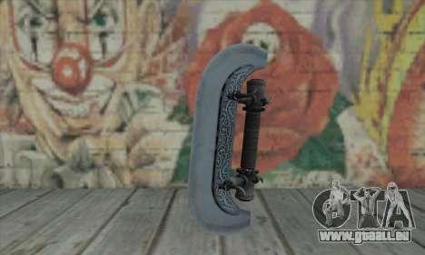 Knuckles - Hatchet pour GTA San Andreas