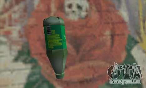 Botol Air Minum pour GTA San Andreas deuxième écran