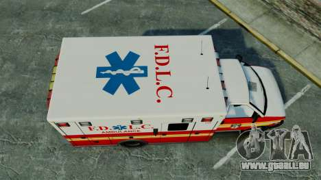 Brute FDLC Ambulance [ELS] für GTA 4 rechte Ansicht