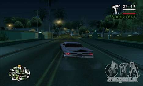 ARP C-HUD by Chrome v2 für GTA San Andreas her Screenshot