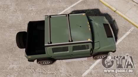 Patriot pickup pour GTA 4 est un droit