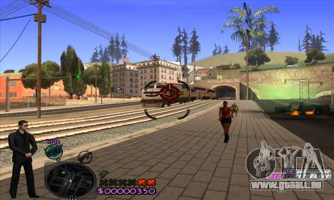 C-HUD Woozie pour GTA San Andreas cinquième écran