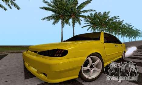 VAZ 2115 Diod pour GTA San Andreas vue arrière