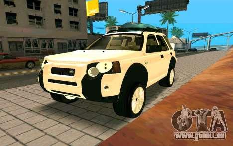 Land Rover Freelander für GTA San Andreas rechten Ansicht