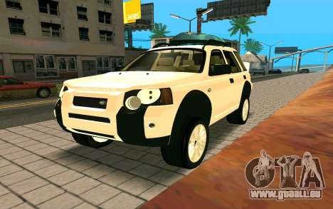 Land Rover Freelander pour GTA San Andreas vue de droite