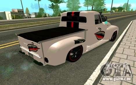 Ford FR-100 pour GTA San Andreas vue arrière