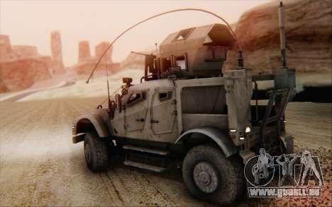 Oshkosh M-ATV pour GTA San Andreas laissé vue