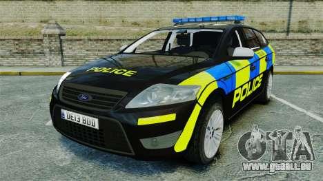 Ford Mondeo Estate Police Dog Unit [ELS] pour GTA 4