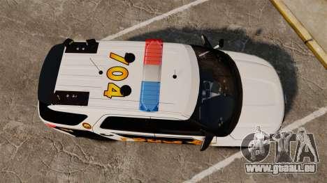 Ford Explorer 2013 LCPD [ELS] v1.5X pour GTA 4 est un droit