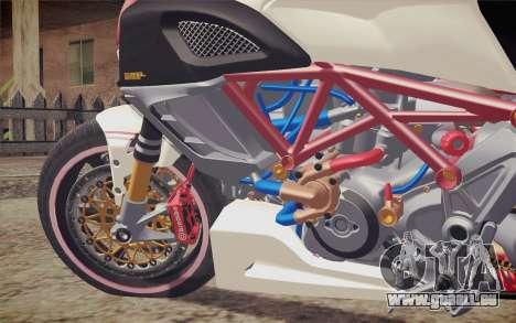 Ducati Diavel Carbon 2011 pour GTA San Andreas vue arrière