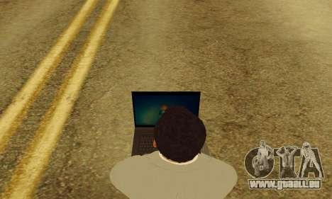 Notebook mod v1.0 pour GTA San Andreas cinquième écran