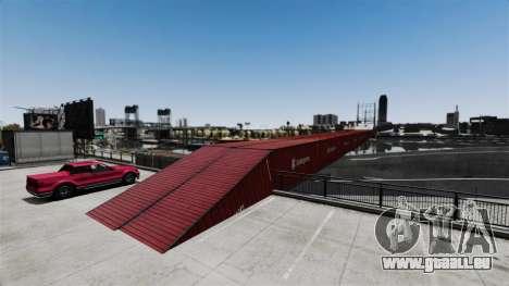 Nouveau pont dans l'Est de l'île de la cité pour GTA 4 quatrième écran