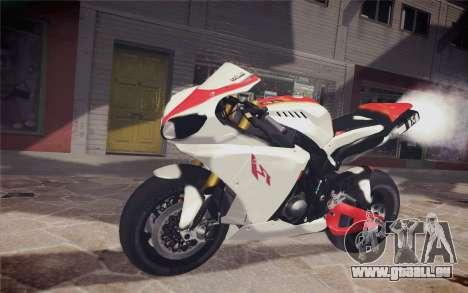 Yamaha YZF R1 für GTA San Andreas