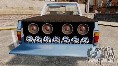 Chevrolet D-20 Custom pour GTA 4 est une vue de l'intérieur