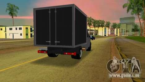 Gazelle 33023 pour GTA Vice City sur la vue arrière gauche