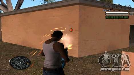 C-HUD by Djet pour GTA San Andreas deuxième écran