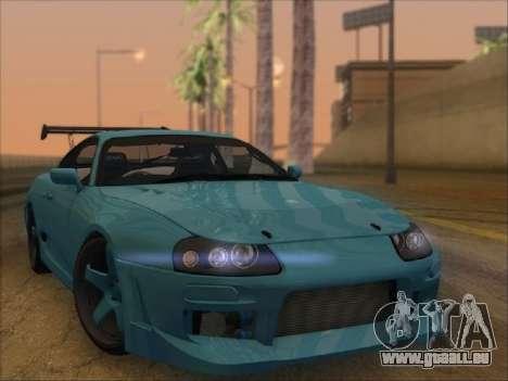 Toyota Supra für GTA San Andreas rechten Ansicht