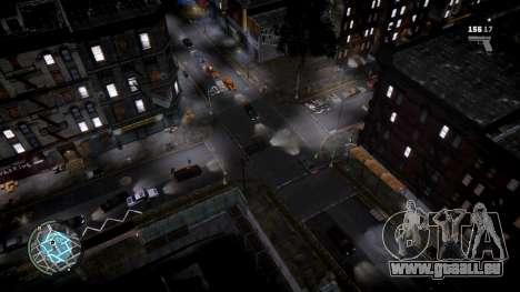 GTA HD Mod pour GTA 4 troisième écran