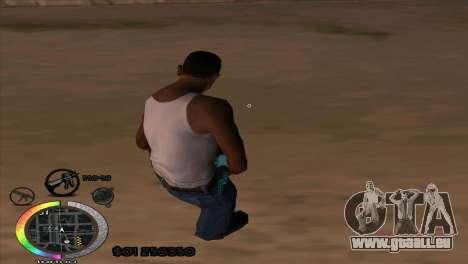 C-Hud Rainbow by HARDy für GTA San Andreas zweiten Screenshot