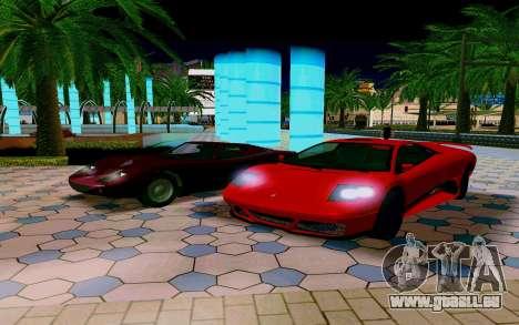 GTA V Pegassi Infernus pour GTA San Andreas vue de droite