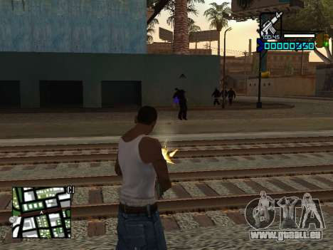 C-HUD by Adam für GTA San Andreas dritten Screenshot
