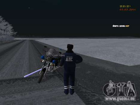 Pak DPS dans un format de l'hiver pour GTA San Andreas onzième écran