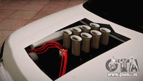 Volkswagen Golf IV Hellaflush pour GTA San Andreas vue intérieure