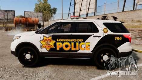 Ford Explorer 2013 LCPD [ELS] v1.5X pour GTA 4 est une gauche