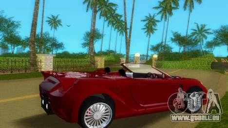 Toyota MR-S Veilside Spider für GTA Vice City zurück linke Ansicht
