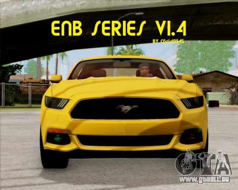 ENBSeries 1.4 pour GTA San Andreas