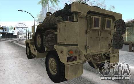MRAP de BF4 pour GTA San Andreas vue de droite