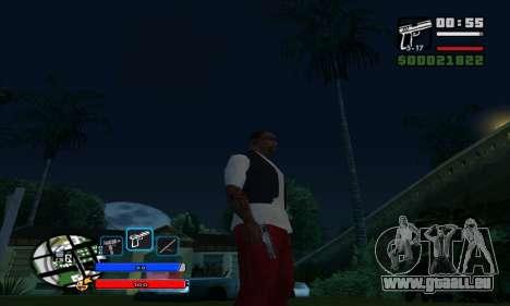 C-HUD by Fawkes pour GTA San Andreas troisième écran