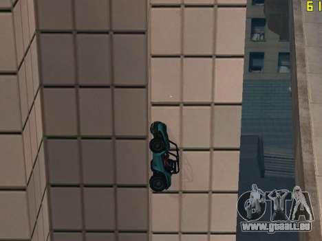Reiten auf Wände und decken v2. 0. für GTA San Andreas