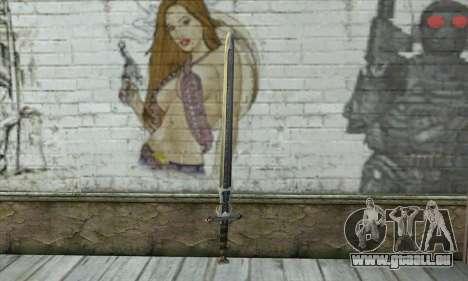Gothic 2 Sword pour GTA San Andreas