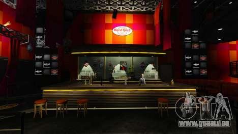 Un nouveau café-Hard Rock- pour GTA 4 secondes d'écran