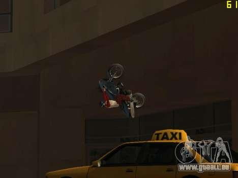 Reiten auf Wände und decken v2. 0. für GTA San Andreas sechsten Screenshot