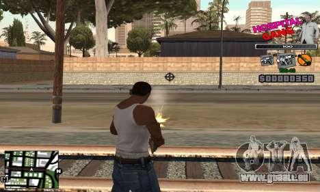 C-HUD Hospital für GTA San Andreas dritten Screenshot