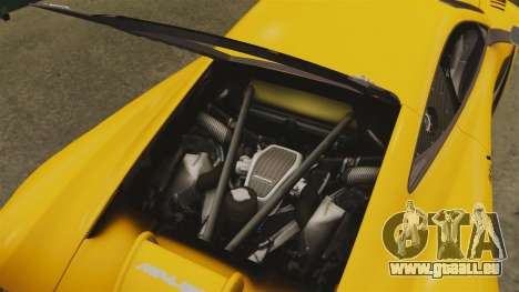 McLaren MP4-12C GT3 pour GTA 4 est un côté