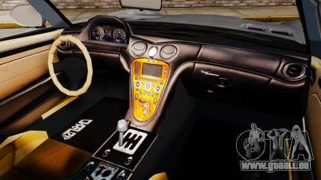 GTA V Benefactor Surano v3.0 pour GTA 4 Vue arrière