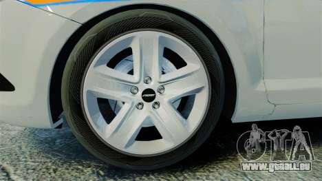 Ford Focus Metropolitan Police [ELS] für GTA 4 Rückansicht