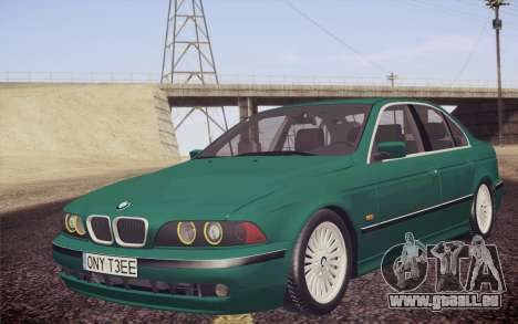 BMW M5 E39 528i Greenoxford pour GTA San Andreas
