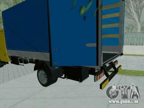 Le tableau de bord actif v 3.2.1 pour GTA San Andreas troisième écran