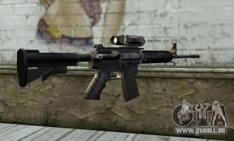 M4A1 Carbine Assault Rifle pour GTA San Andreas deuxième écran